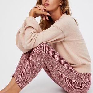 Free People High Rise Primal Legging L
